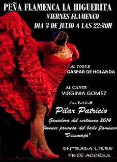 Viernes Flamenco en Isla Cristina