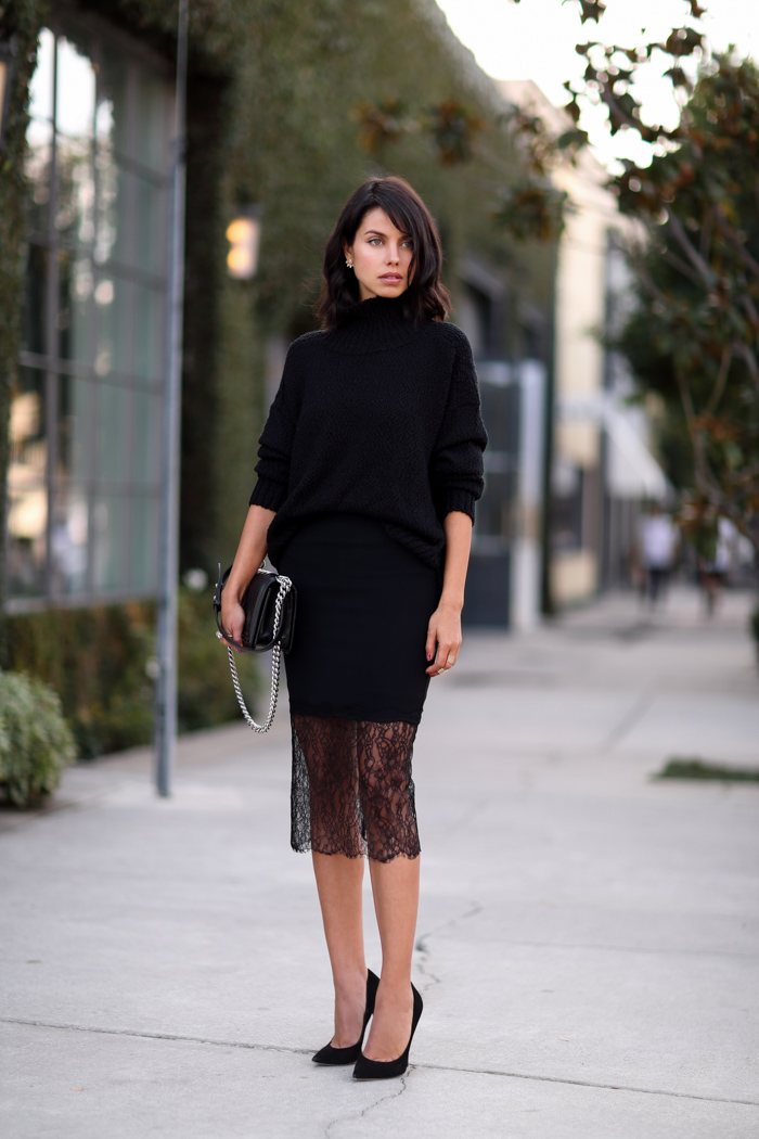 Vivaluxury fashion blog by annabelle fleur just black for Can i wear a sweater dress to a wedding