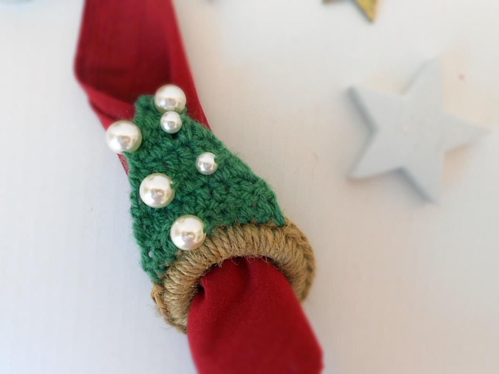 Estremamente Handmade Cou[l]ture: Portatovagliolo di Natale fai da te | A  HK83