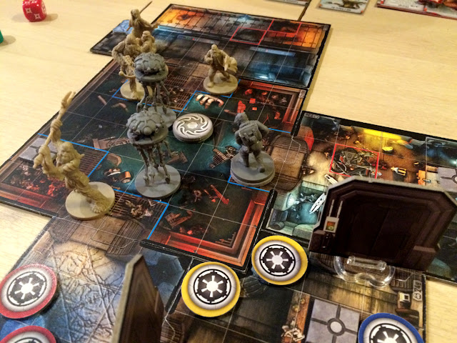 Star Wars Imperial Assault wookie attack