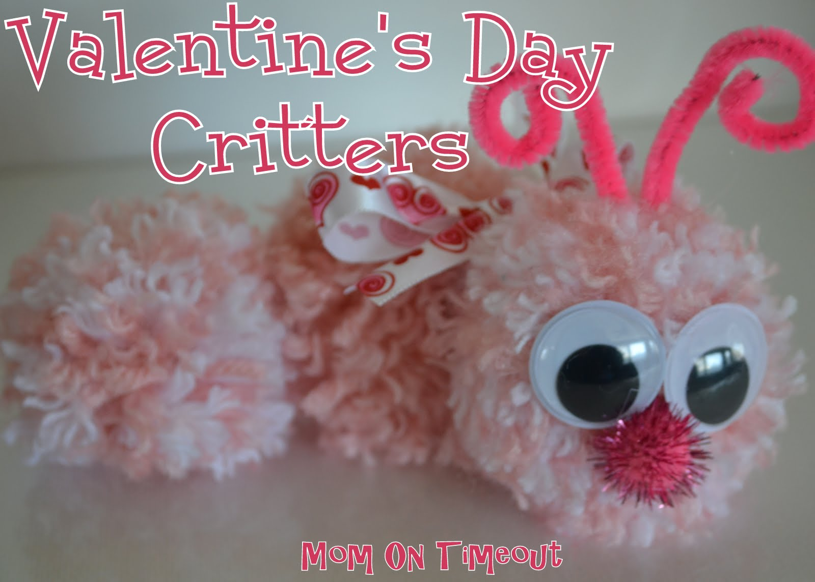 Valentine love bug craft - Valentine S Day Critters Craft