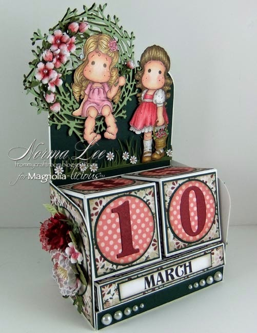 From My Craft Room: Perpetual Calendar Blocks Tutorial