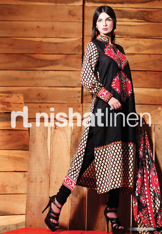 NishatLinenWInter2012 13DresseswwwShe9blogspotcom252832529 - Life Style Comp November 2012