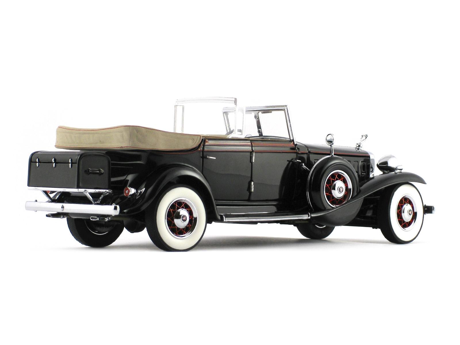 Ford 150 Xlt >> 1932 Cadillac V-16 Sport Phaeton - Eliot Ness Franklin Mint