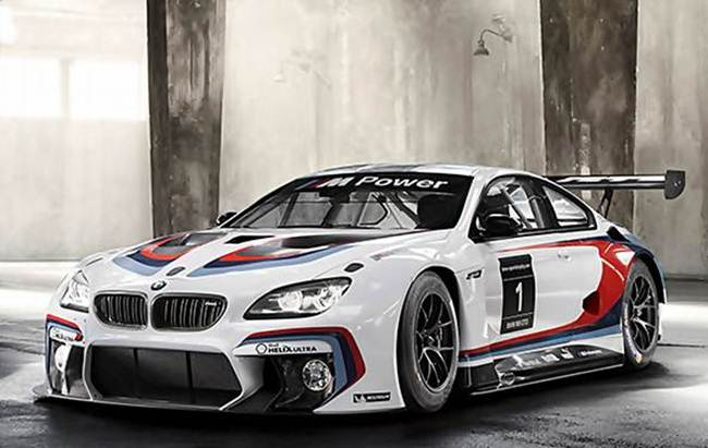 2016 Bmw M6 Gt3 Redesign Autocar Regeneration
