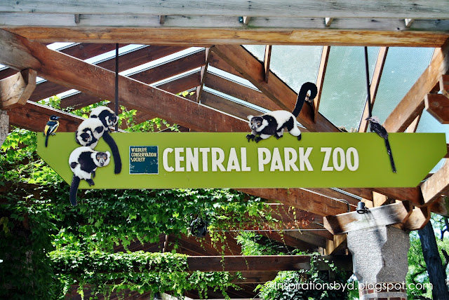 Central Park Zoo in New York