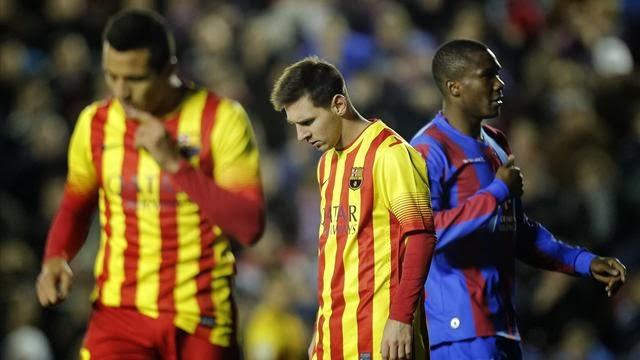 فيديو: اهداف مباراة برشلونة ضد ليفانتي