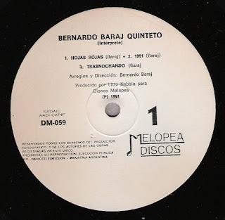 Bernardo Baraj Quinteto: Idem (1991)