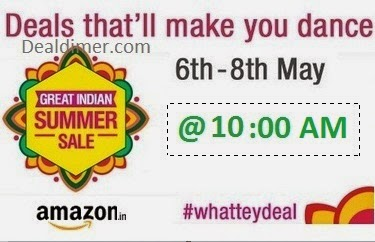 Amazon WhatTeyDeal Great Indian Summer Sale