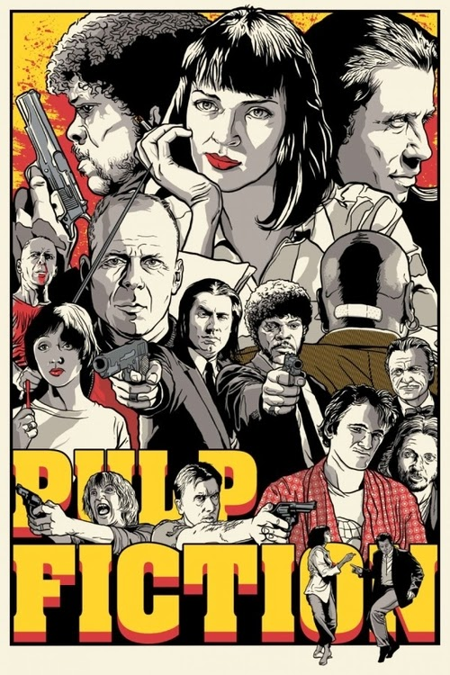 07-Pulp-Fiction-Film-and-TV-Series-Posters-US-Artist-Joshua-Budich-www-designstack-co