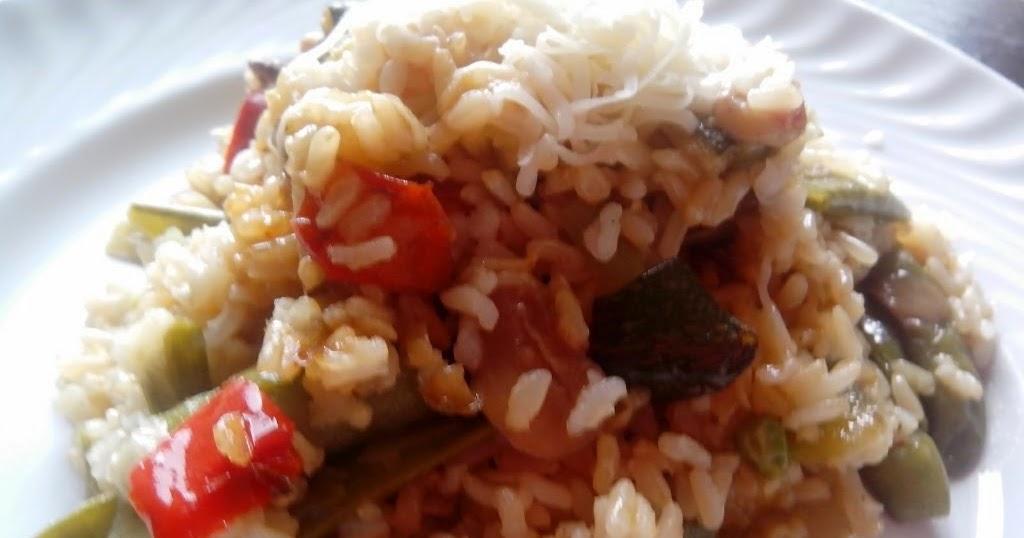 Arroz integral con verduras en olla gm for Arroz blanco cocina al natural