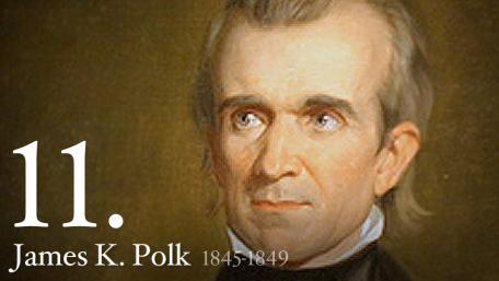 JAMES K. POLK 1845-1849