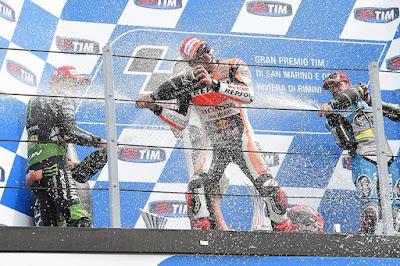 Daftar Kejanggalan Podium GP San Marino yang Berujung Rekor