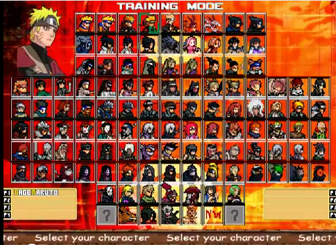 Naruto Mugen 2012