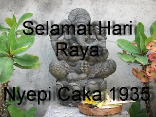 SELAMAT MENYAMBUT TAHUN BARU SAKA 1935.