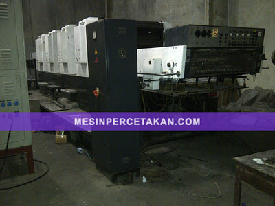 Miller TP 104 Offset Printing Machine