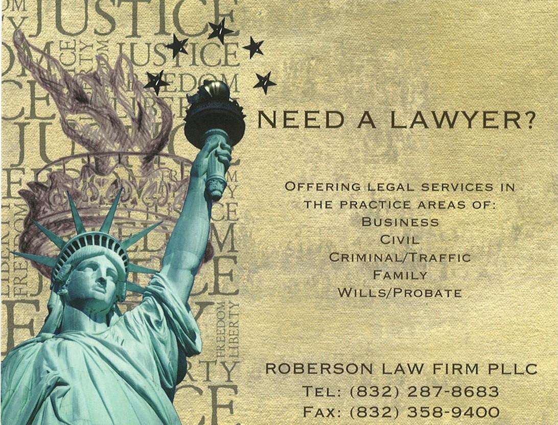 Roberson Law Firm PLLC (Houston, Texas)