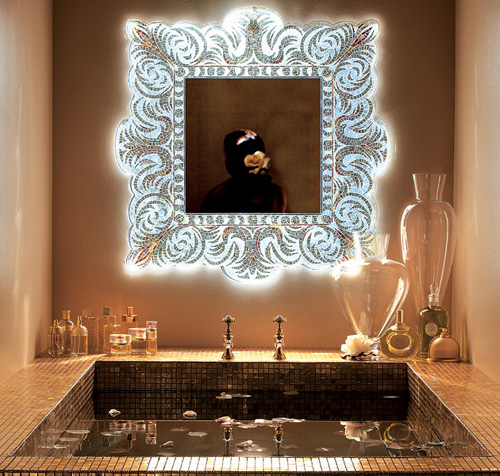 Increíbles espejos de pared de Sicis