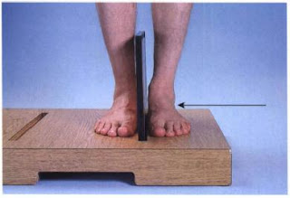 lateral weight bearing foot