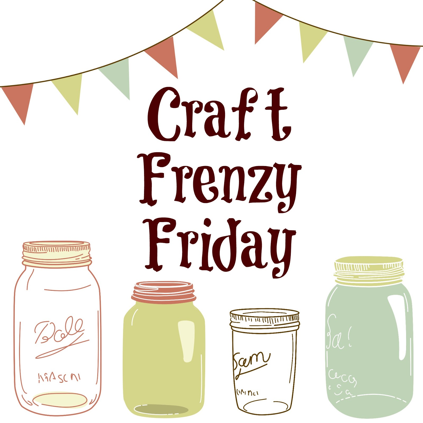 Kitchen Fun And Crafty Friday Link Party 167: Craft Frenzy Friday Link Party