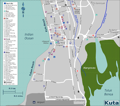 Kuta Map