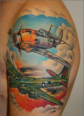 Airplane Tatttoo