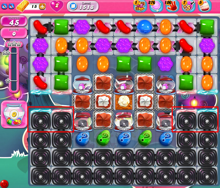 Candy Crush Saga 1518