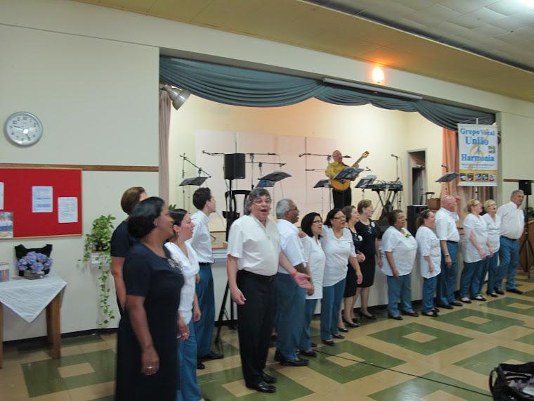 CORAL UNIÃO E HARMONIA NO DIA 17/11/2012