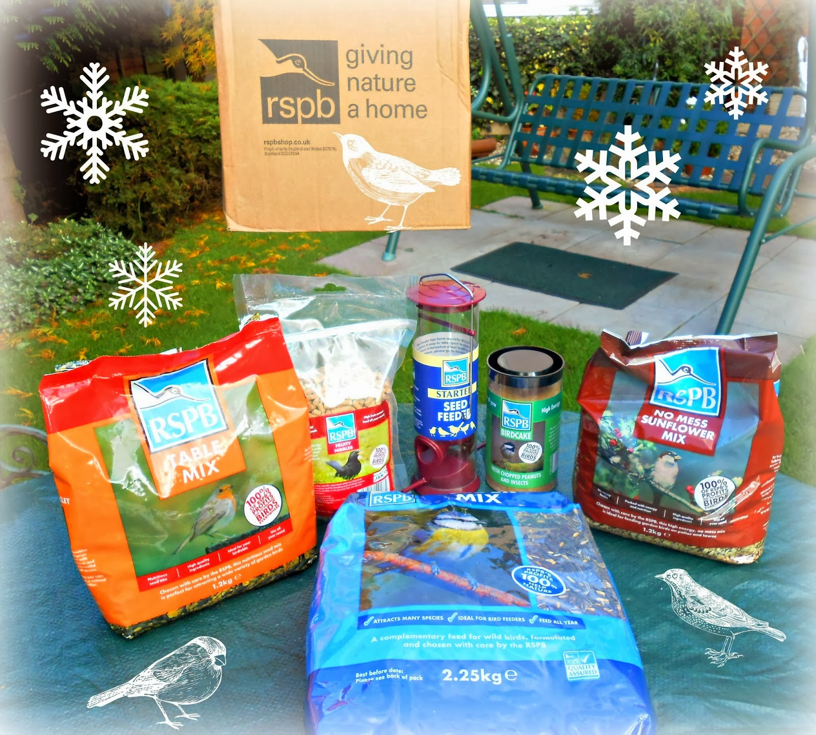 RSPB Bird Food Gift Pack