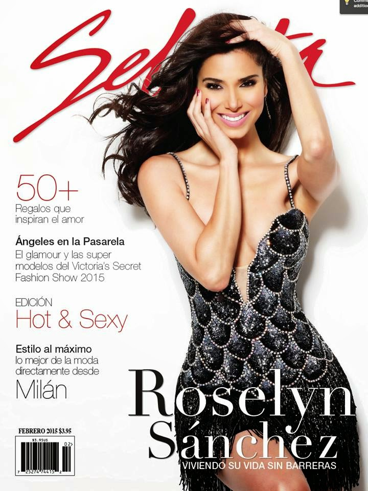 Actress, Singer-Songwriter, Model: Roselyn Sanchez for Selecta US