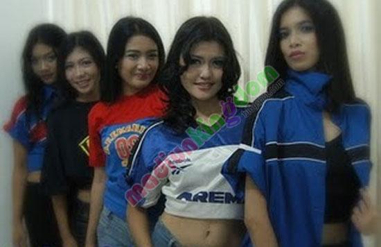 aremania+girl Foto: Cewek Cewek Cantik Suporter Bola Indonesia