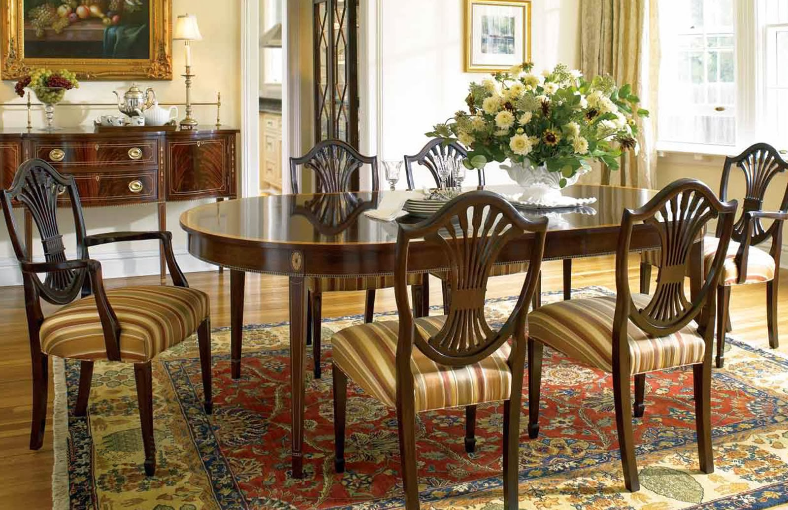 stickley traditional dining in