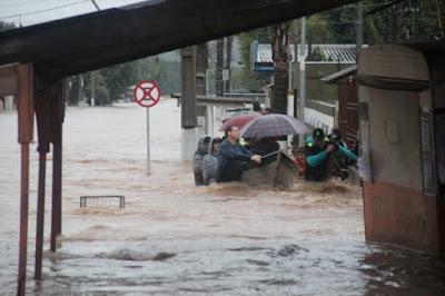 47 MIL EVACUADOS POR INUNDACIONES EN BRASIL