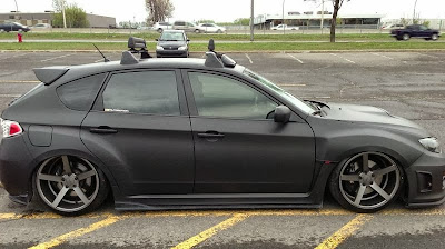 Subaru WRX STi Suspension and Wheel Upgrades