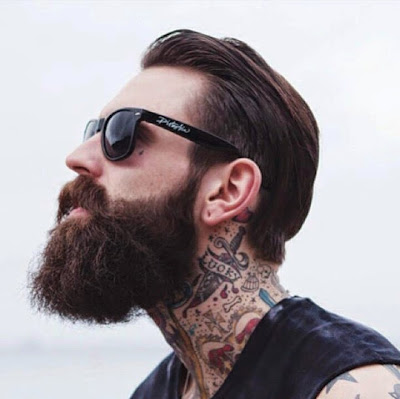ricki hall tattoos beard