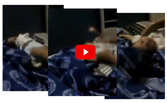 Video of Two Woman Shaking Baby on a Bed Goes Viral