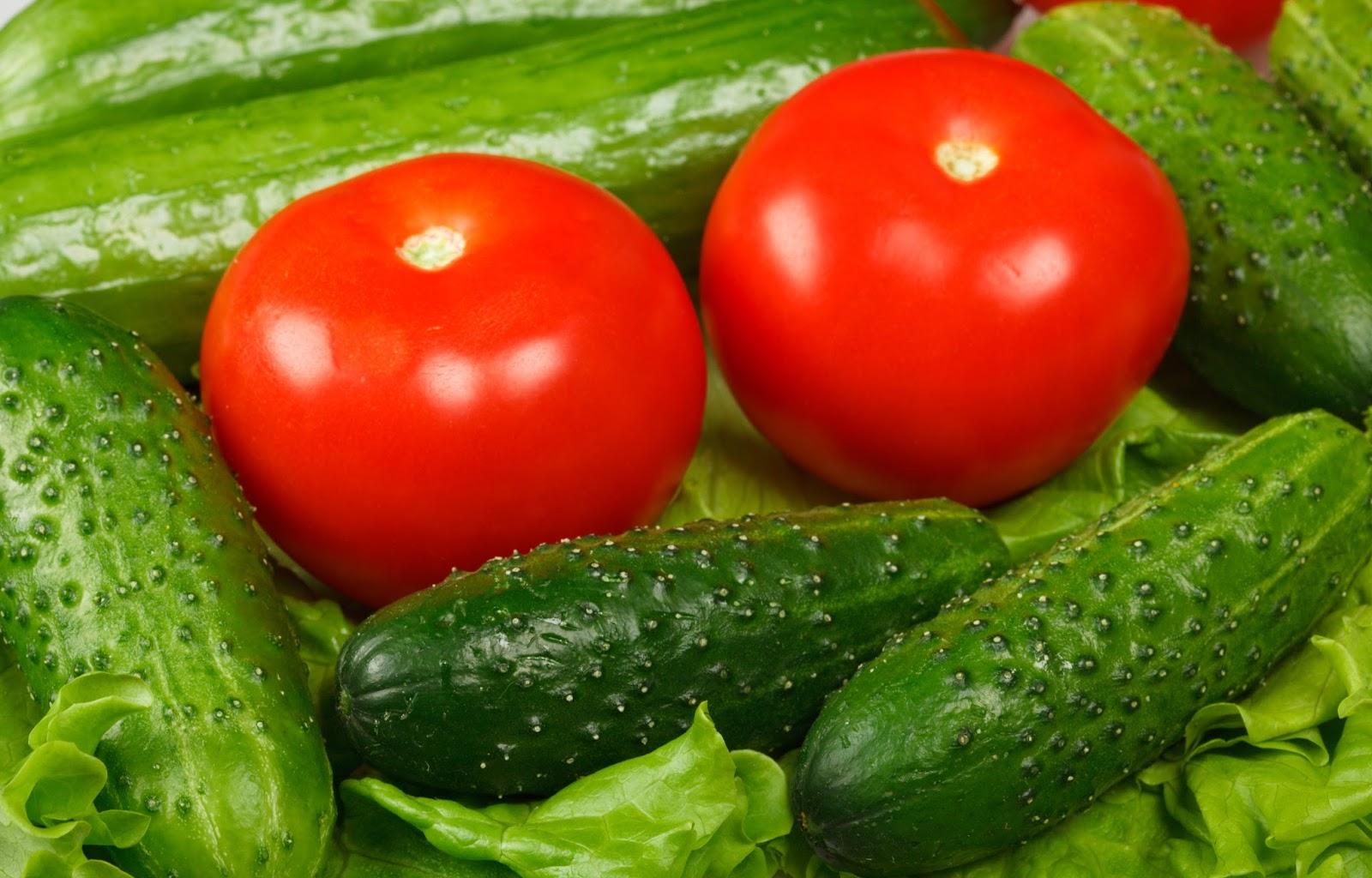 Смотреть 4 причины не смешивать в салате огурцы и помидоры видео