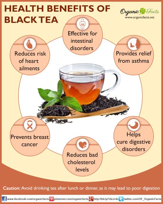 benefits blacktea