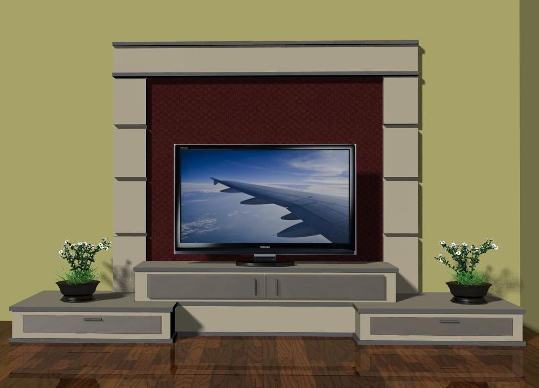 Gambar desain interior minimalis rak tvtelevisi ask home design - Gambar interior design ...