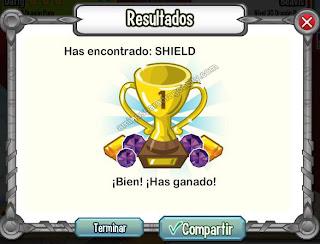imagen de shield de la isla calabozo de dragon city