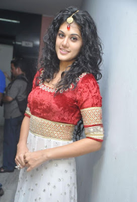 tapsee gorgeous at dharuvu audio launch photo gallery