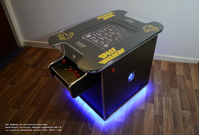 floating arcade machine