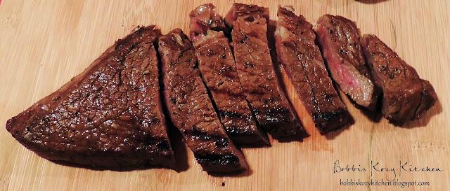 Bobbi's Kozy Kitchen: Balsamic and Red Wine Steak Marinade