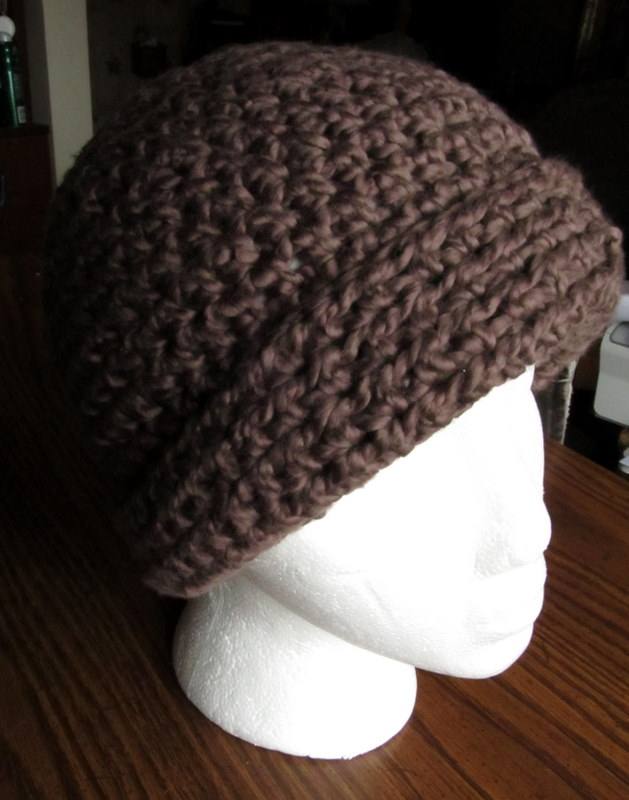Crochet Patterns In Cotton : LazyTcrochet: Crochet Hat Pattern - Organic Cotton