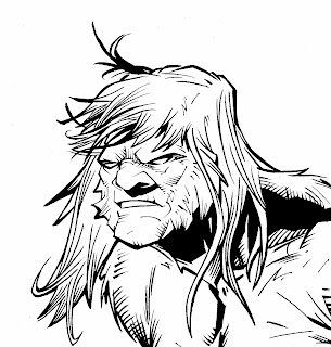 bigfoot sword of the earthman issue five bigfoot comic book bigfoot graphic novel barbarian comic
