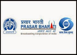 Recruitment in Prasar Bharati,May-2015