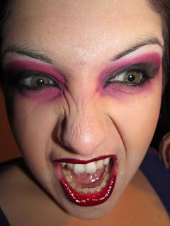 Maquillage: Sexy et Glam Vampire