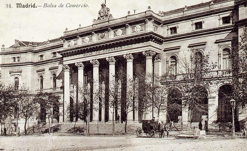El Palacio de la Bolsa. (1893)
