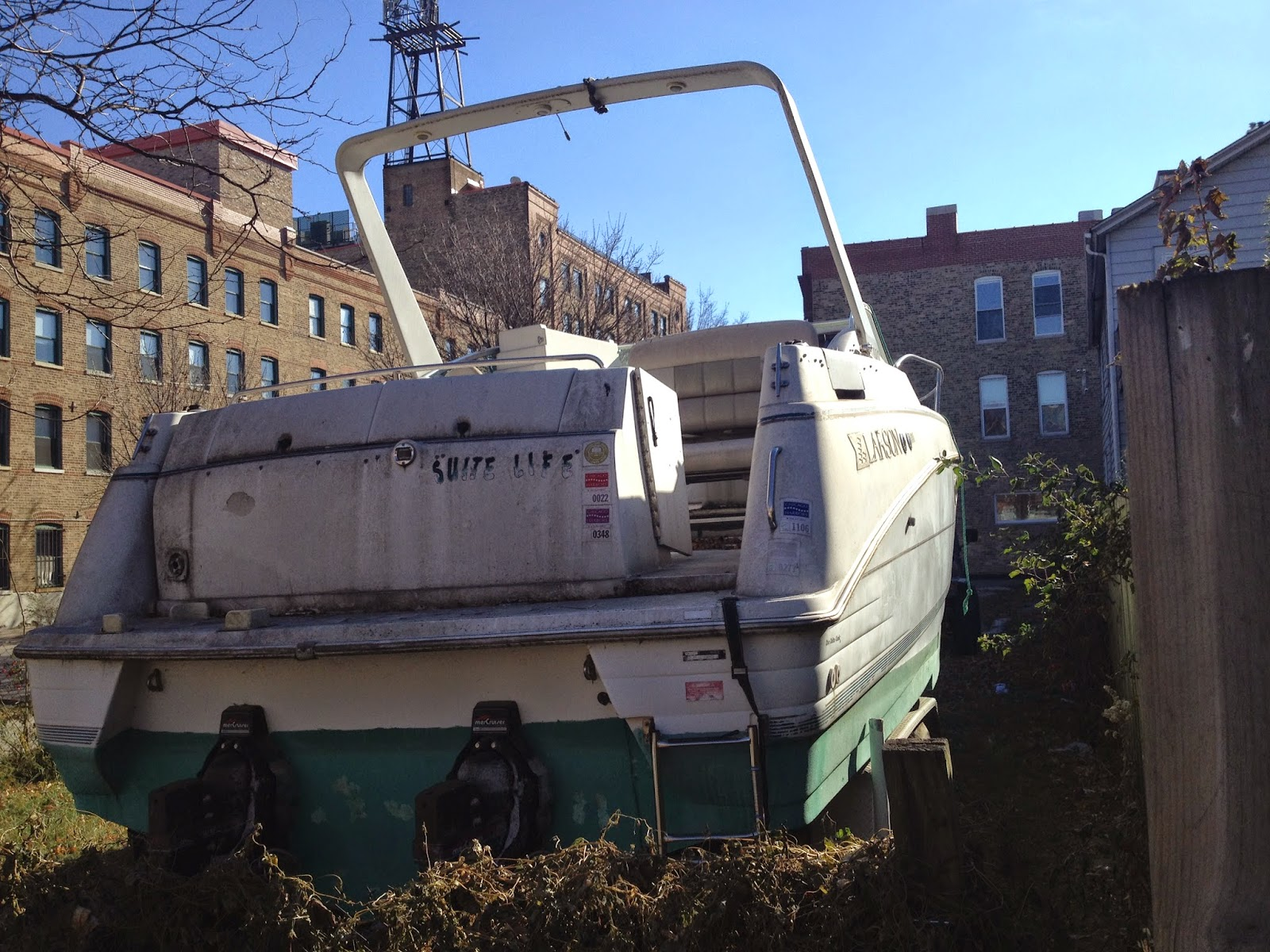 $300 boat in Chicago West Town neighborhood