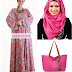 DRESS SHAWL HANDBAG KERAWANG DRESS